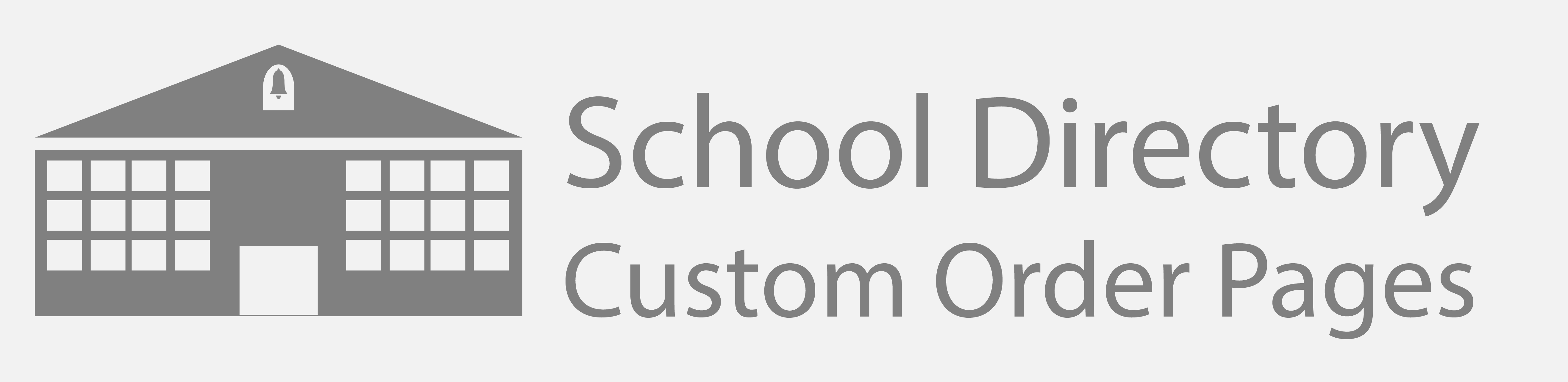 School Directory: Custom Order Pages