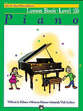Alfred's Basic Piano Course: Level 1B