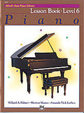 Alfred's Basic Piano Course: Level 6