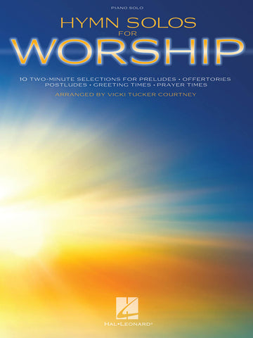 Hymn Solos for Worship: Two-Minute Arrangements
