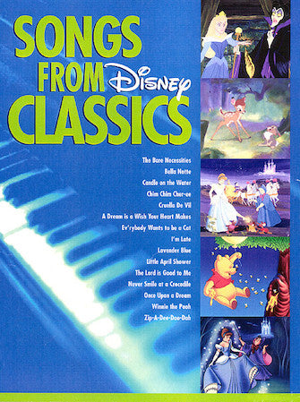 Songs from Disney Classics (Big Note Piano)