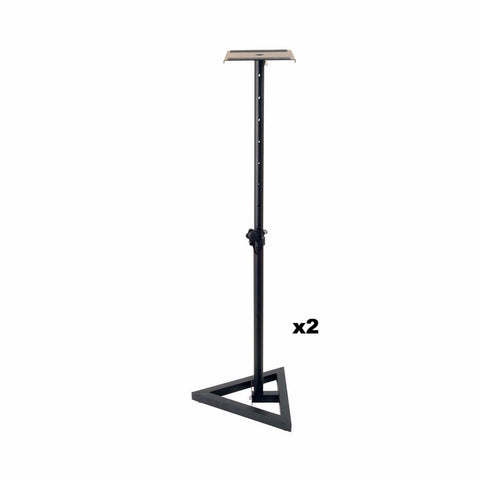 On-Stage Studio Monitor Stand (Pair)