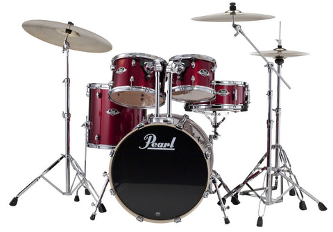 "Pearl Export EXX 5-Piece Drum Set w/ Hardware (20"" Bass, 10""/12""/14"" Toms, 14"" Snare)"