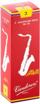Vandoren Java Red Tenor Sax Reeds (box of 5)