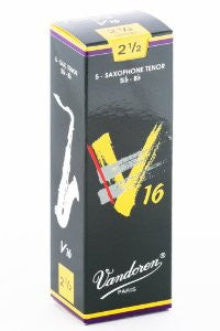 Vandoren V16 Tenor Sax Reeds (box of 5)