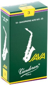 Vandoren Java Alto Sax Reeds (box of 10)