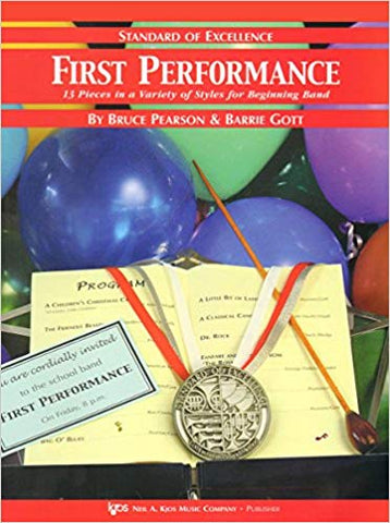 First Performance - Standard of Excellence