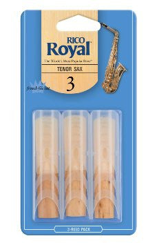 Rico Royal Tenor Sax Reeds (3 pack)