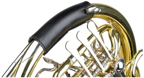 Protec Double French Horn Leather Valve Guard