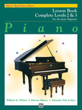 Copy of Alfred's Basic Piano Library: Complete Level 2 & 3