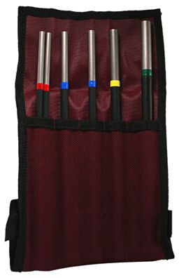 Grover Deluxe Tubular Beater Set (6pc) w/ case
