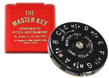 Master Key Chromatic Pitch Pipe
