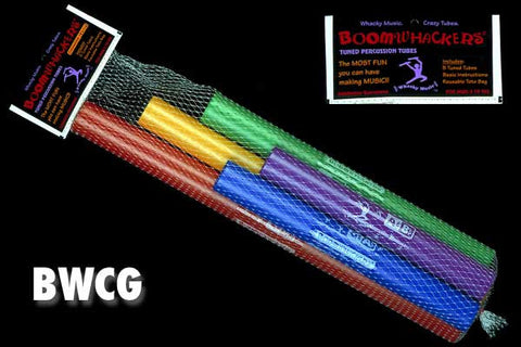 Boomwhackers Chromatics Set