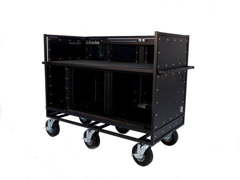 Pageantry Innovations MC-25 Extended Width Double Mixer Cart