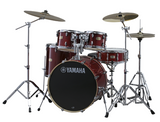 "Yamaha Stage Custom Birch 5 Piece Drumset w/ 780W Hardware (20"" Bass, 10""/12""/14"" Toms, 14x5.5"" Snare)"