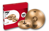 "Sabian B8X Two Pack Set (14"" Hats, 18"" Crash/Ride, 14"" Crash)"