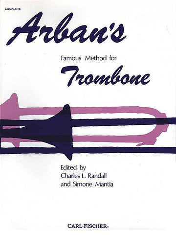 Arban's Famous Method For Trombone (and Baritone B.C.) - Book/CD