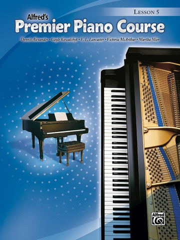 Alfred's Premier Piano Course - Level 5