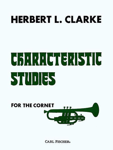 Characteristic Studies For The Cornet (Clarke)