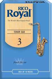 Rico Royal Tenor Sax Reeds (box of 10)