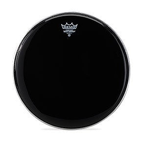 Remo Ebony Pinstripe Crimplock Tenor Marching Heads