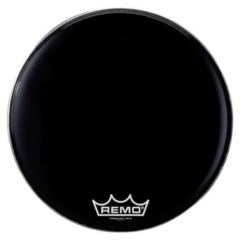 Remo Ebony Powermax Marching Bass Drum Head