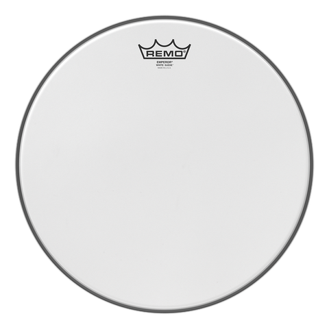 Remo Batter White Suede Emperor Combo Drum Head