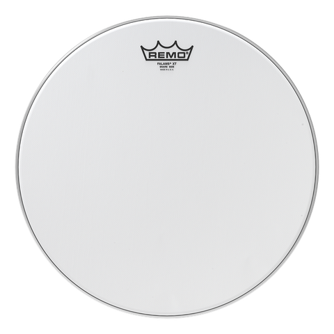 Remo Falams XT Smooth White Crimped Kevlar Marching Snare Side Head