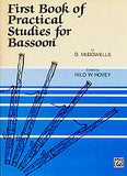 First Book Of Practical Studies For Bassoon