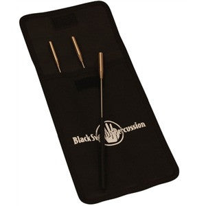 Black Swamp Spectrum Triangle Beater Set - 3 Beaters with Case