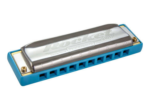 "Hohner Progressive Series ""Rocket"" Harmonica - Low"