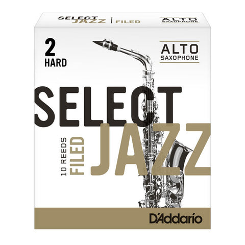 Rico Jazz Select Alto Sax Reeds (box of 10)