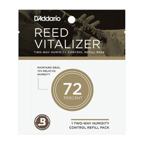 D'Addario RV0173 Reed Vitalizer Humidity Control - 72% Single Refill