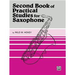 Second Book of Practical Studies for Saxophone
