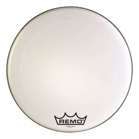 Remo Smooth White Ambassador Marching Bass Drum Head