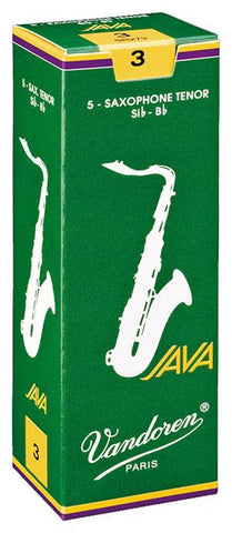 Vandoren Java Tenor Sax Reeds (box of 5)