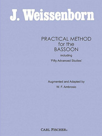 Practical Method For The Bassoon (Weissenborn)