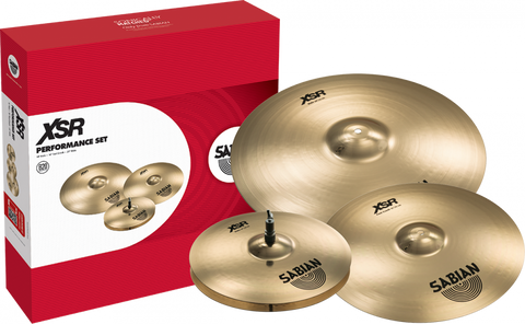"Sabian XSR Performance Set (14"" hats, 16"" Fast Crash, 20"" Ride)"
