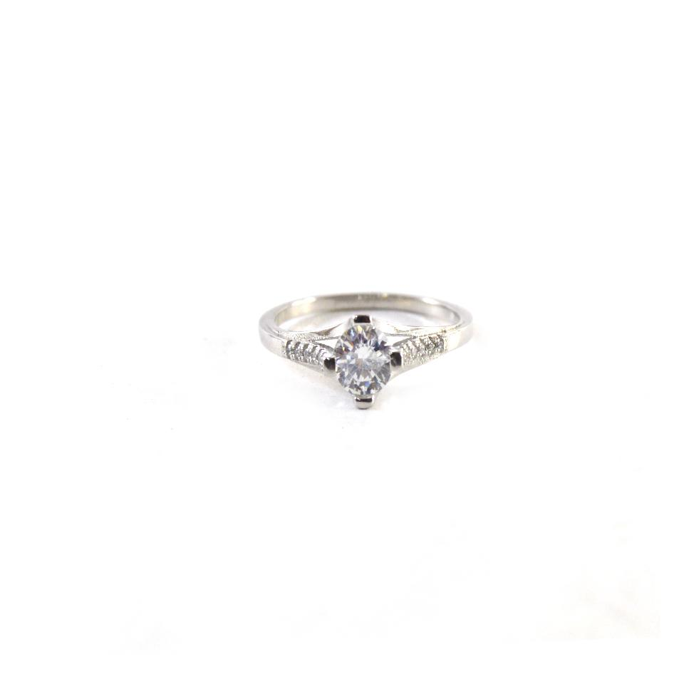 Diamond Silver Ring