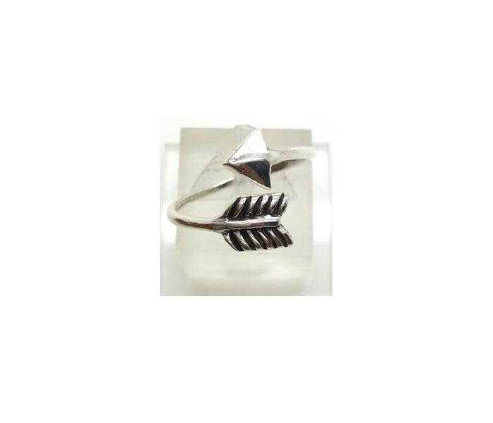 Arrow ring in Boho style is made of sterling silver 925.