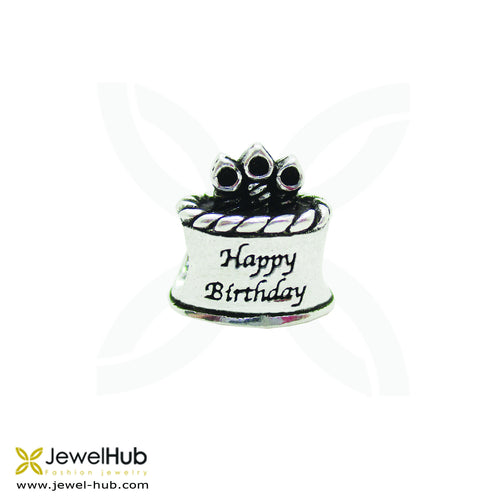 birthday cake happy gift charm for bracelet boho