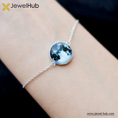 Light Moon Silver Bracelet