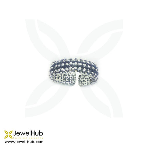 Stunning sterling silver wedding band with baguette cut cz stones.
