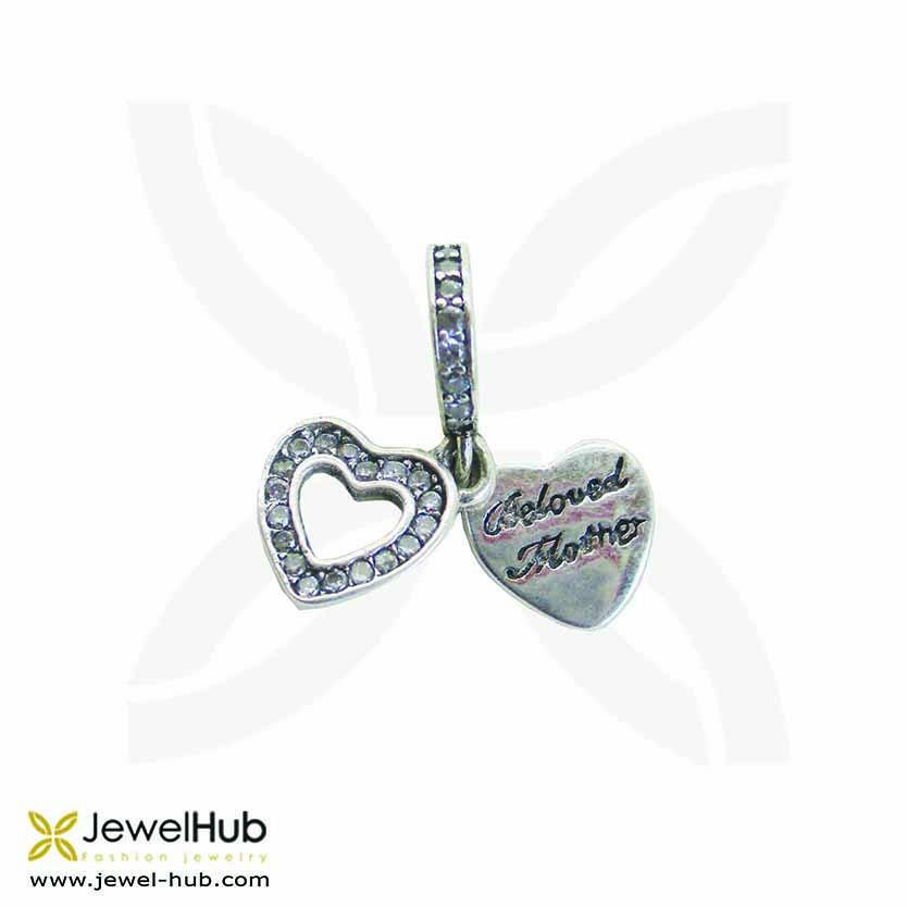 Beloved Mother Heart charm