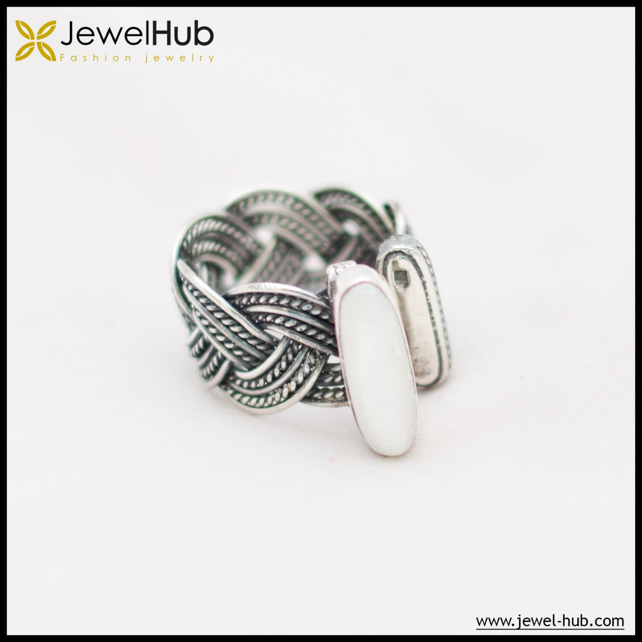 Lovely Plait Boho Ring