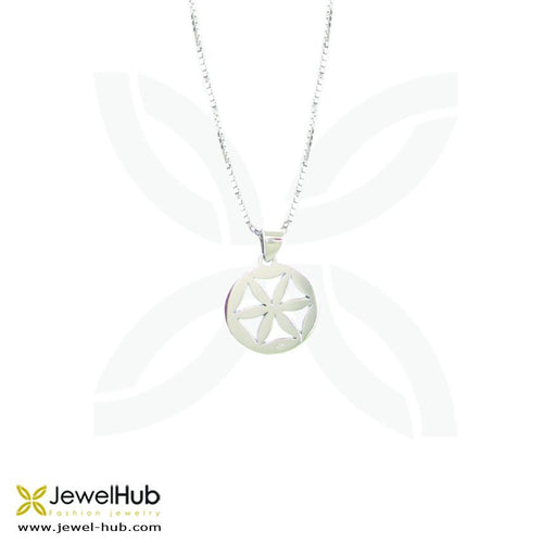 Beam Circle Necklace