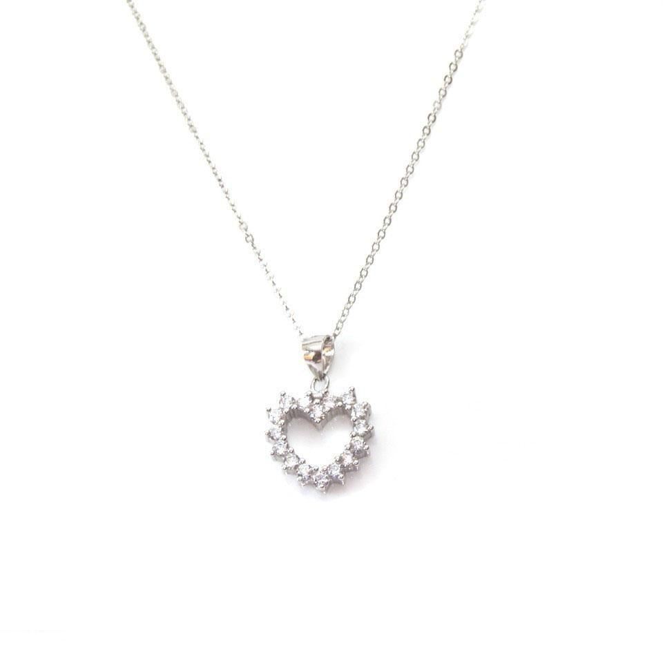 Fashionable Struss Heart Necklace