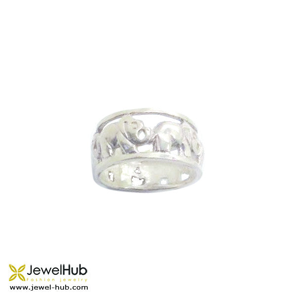 Happy Elephants Boho Ring