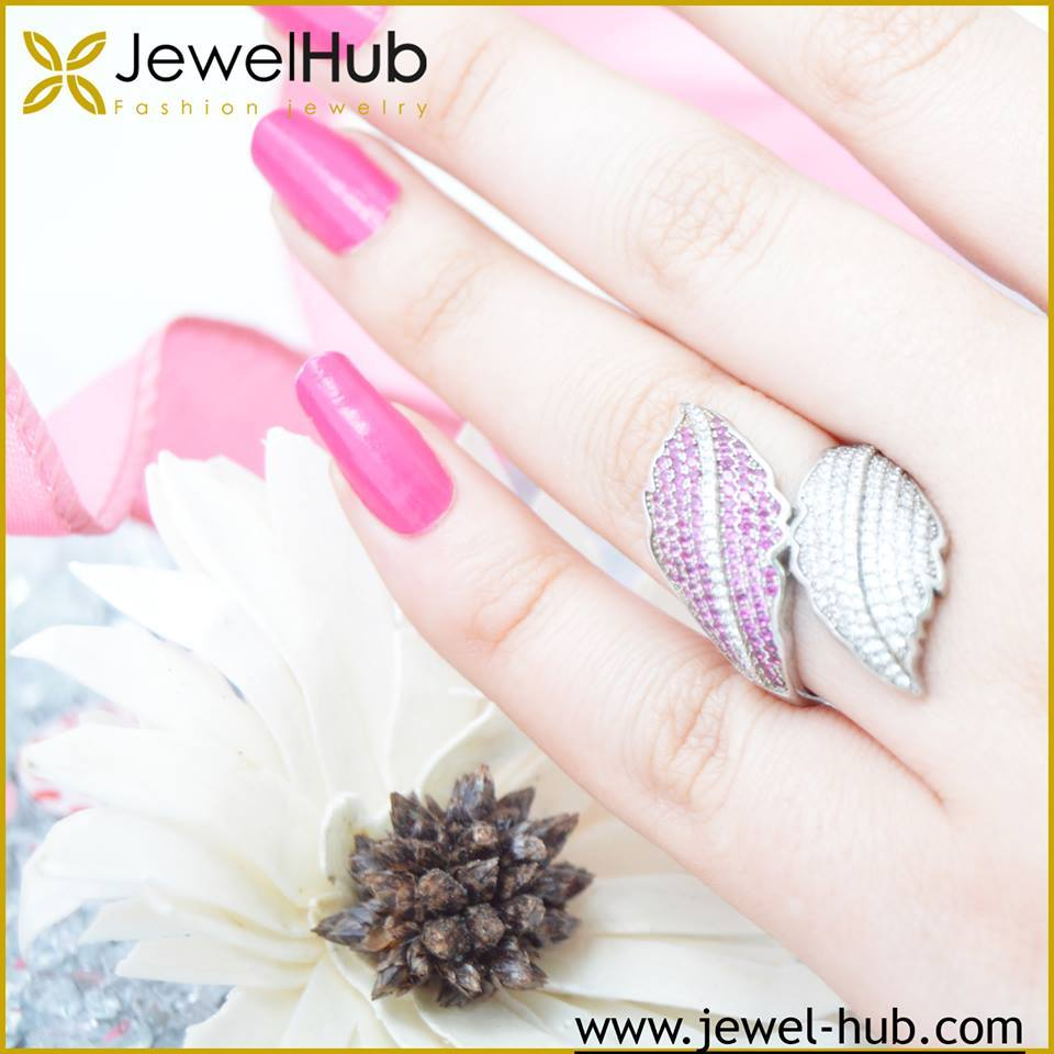 Amazing Wing Silver Ring