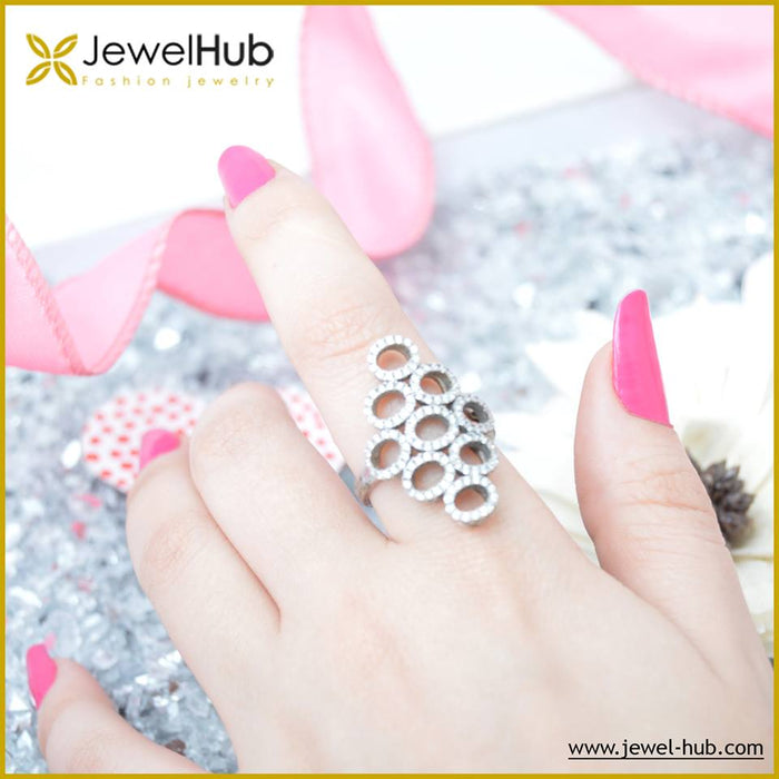 Circles Ring, Ring - JewelHub jewelry